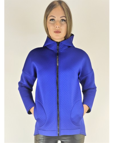 Neoprene jacket blue