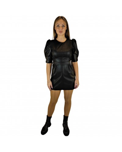 Eco leather dress Odel