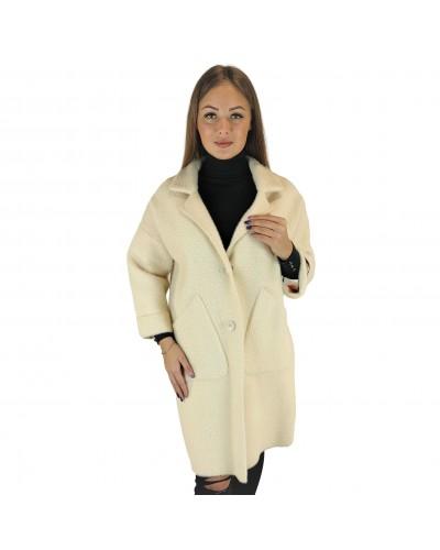 Alpakos vilnos paltukas
