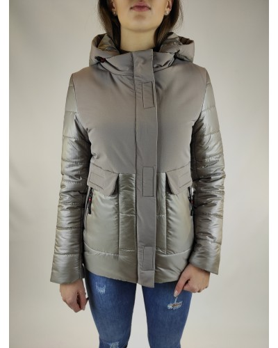 Short combined jacket