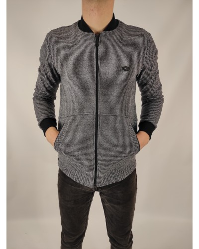 Men's blazer with a zipper