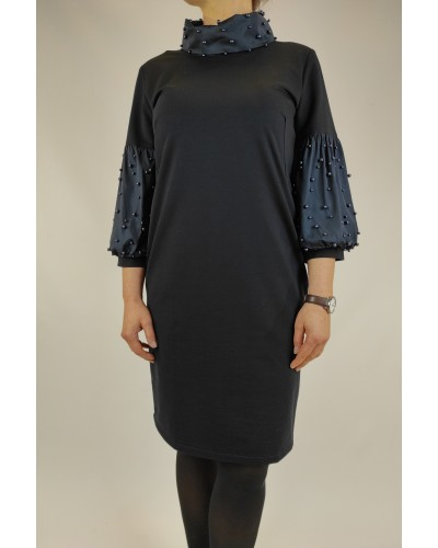 Dress in dark blue Giulia