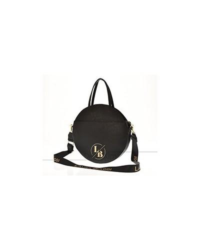 Round handbag Laura Biaggi