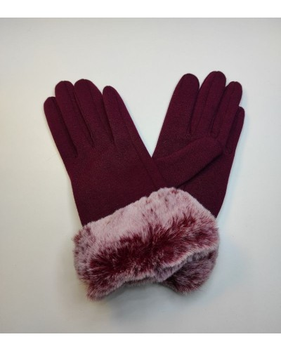Fur gloves